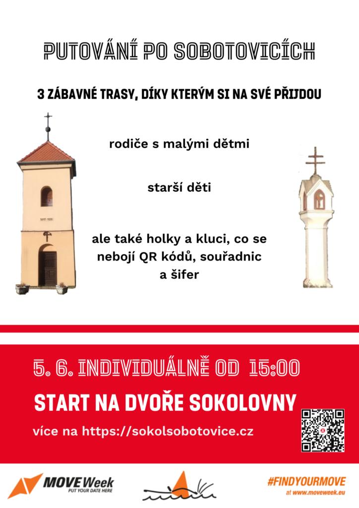 plakát k akci Putování po Sobotovicích